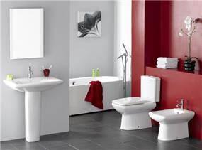 דוגמא לחדר אמבט של חורב ופרסקו