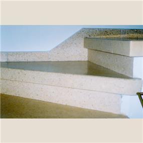 מדרגות משולות מוזאיקה מבני מדרגות