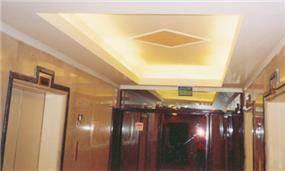דוגמא לעבודת גבס של לובי -מלון רנסנס