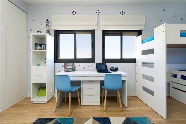 חדר ילדים מעוצב לאחים
