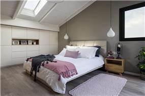 חדר שינה מעוצב כמו צימר
