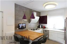מטבח מודרני בדירת קבלן
