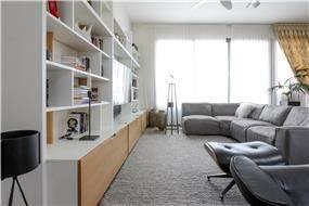 עיצוב דירת פרויקט באם המושבות
