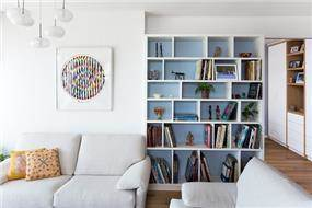 עיצוב פנים של בית מודרני - מבט לסלון