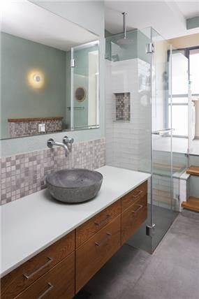 עיצוב בית במוצא עילית - חדר רחצה