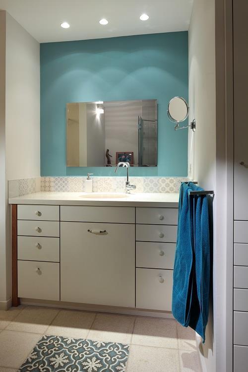 עיצוב בית מודרני ברמת החייל - חדר אמבטיה