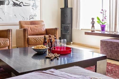 עיצוב בית במוצא עילית - מבט נוסף בסלון