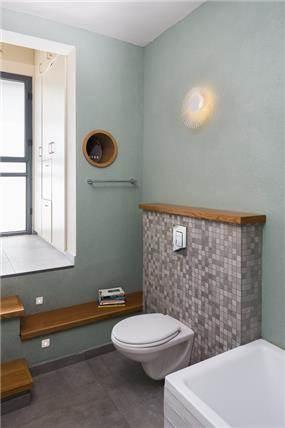 עיצוב בית במוצא עילית - חדר שירותים