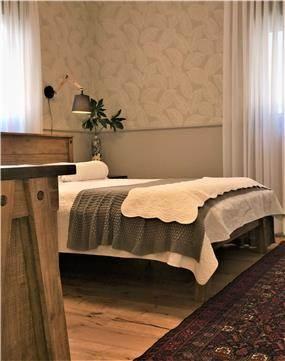 חדר שינה בסגנון נורדי
