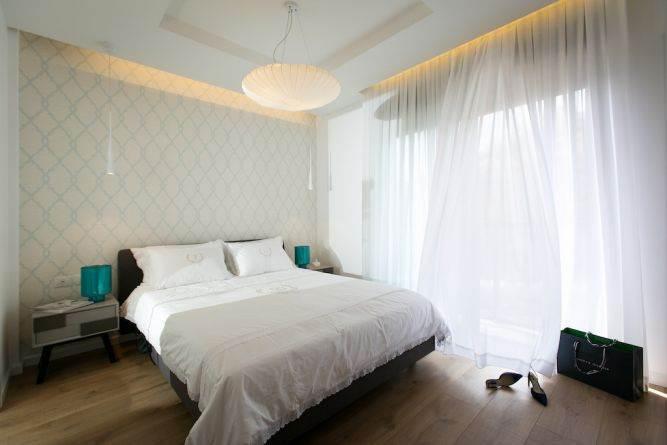 חדר שינה מעוצב, אורית כוכבי תכנון ועיצוב פנים