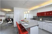 מבט אל מטבח בכפר סבא - עיצוב ליאת הראל