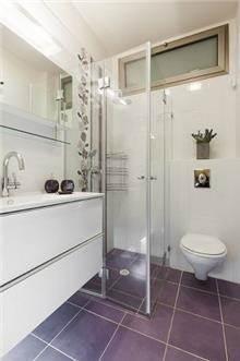 מקלחת בבית פרטי בהרצליה - עיצוב ליאת הראל