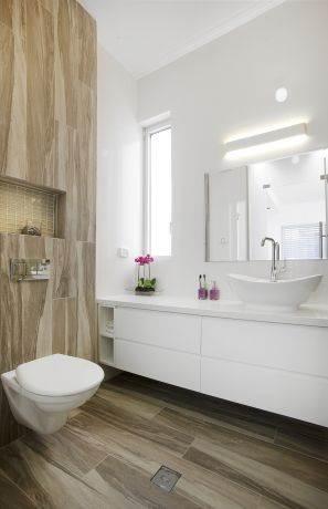 שירותים, ענבר מנגד - תכנון ועיצוב פנים