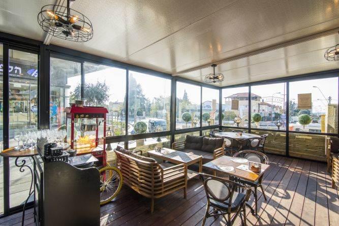 בית קפה- בן רזניאלי סטודיו לעיצוב פנים