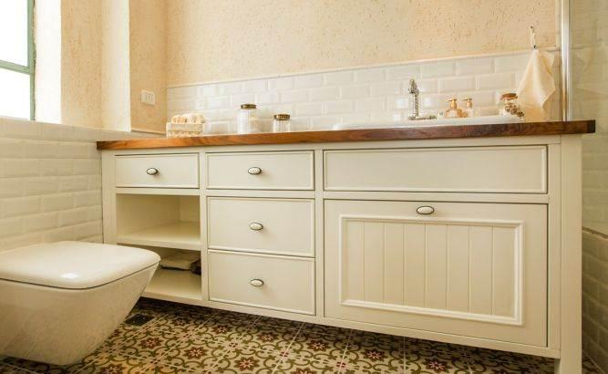 ארון אמבטייה בסגנון פרובנס, בטש מעצבים