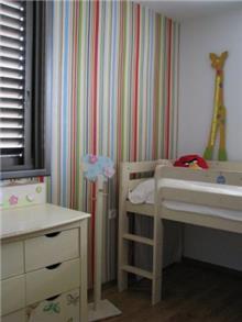 דירה ברח' ביאליק, רמת השרון. חדר ילדים - סטודיו פרטים.