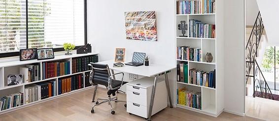 גלריית חדרי עבודה