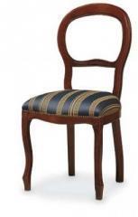 כסא גב עגול