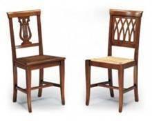 כסא גב מעוצב
