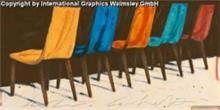 גיל פוסטרס כסאות צבעוניים