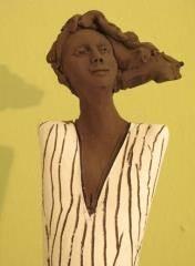פסל שחור לבן 5