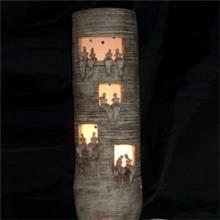 גוף תאורה 5 בצורת גליל