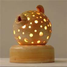 מנורת ילדים 8 בצורת דג