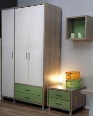 ארון ירוק ולבן