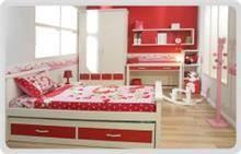 חדר ילדים אדום אדום