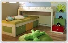מיטה מצויירת