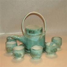 אומנות שימושית 3 סט קומקום תה
