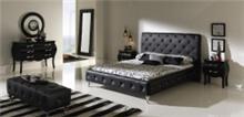 מיטה שחורה