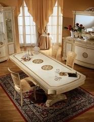 שולחן אוכל רחב - רהיטי מוביליה