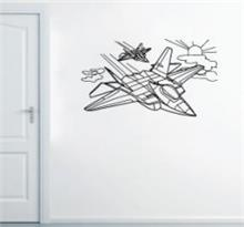 מדבקת קיר צי מטוסי קרב