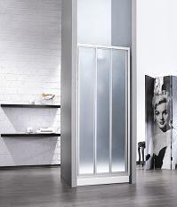 מקלחון חזית משולב זכוכית מחוסמת