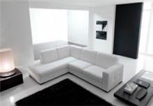 ספה פינתית לבנה - רהיטי מוביליה