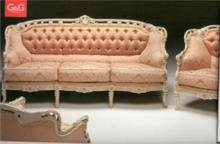 ספת קפיטונאז' במראה עתיק - רהיטי מוביליה
