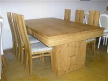 שולחן לפינת אוכל במראה כפרי