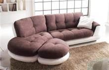 ספה פינתית בשני צבעים - רהיטי מוביליה