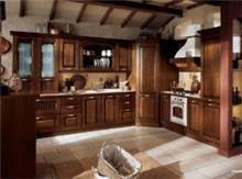 מטבח עץ במראה עתיק