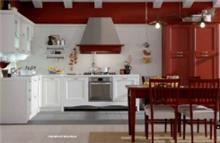 מטבח איטלקי אדום