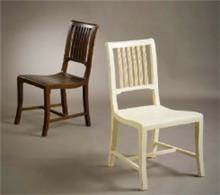 כסא אוכל בעיצוב מעוגל