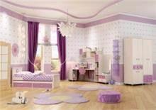 חדר שינה סגול