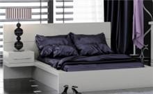 מיטת נוער לבנה