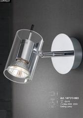 מנורת קיר שקופה