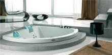 אמבטיה פינתית עם אופציה לג'קוזי