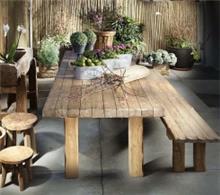שולחן אוכל מעץ מלא