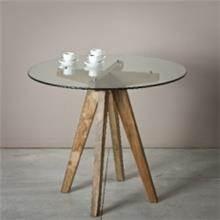 שולחן אוכל משולב זכוכית