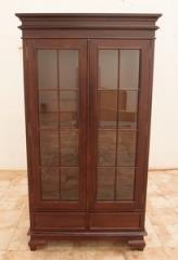 ויטרינה מעץ מלא עם דלתות זכוכית - Treemium - חלומות בעץ מלא