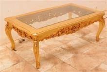 שולחן לסלון בעבודת יד - Treemium - חלומות בעץ מלא